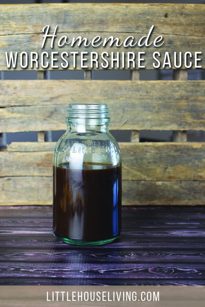 Need some Worcestershire sauce for a recipe but don't have any on hand? Here's how to make your own! #makeyourown #homemadesauces #worcestershiresauce #diyworcestershire #worcestershiresaucesubstitute