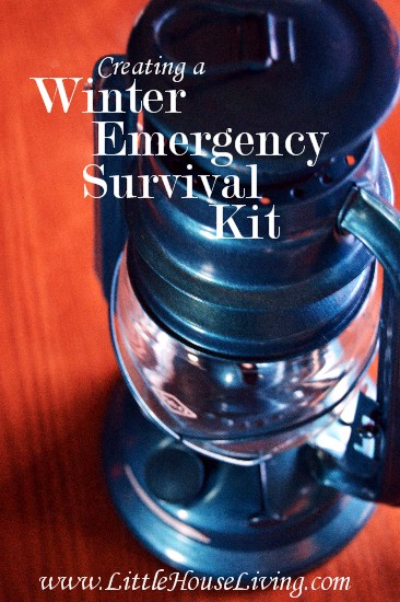 Creating a Winter Emergency Survival Kit