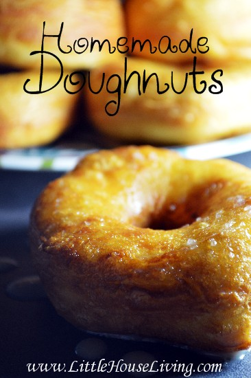 Homemade Doughnuts Recipe - Little House Living