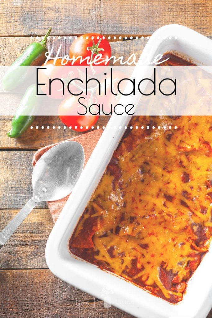 This Homemade Enchilada Sauce from scratch has better flavor than the canned version and is incredibly simple and quick to whip up. Learn how to make, can, and use it with these easy recipes. #homeamadeenchiladasauce #enchiladasauce #psole #enchiladas #makeyourown #canningrecipe