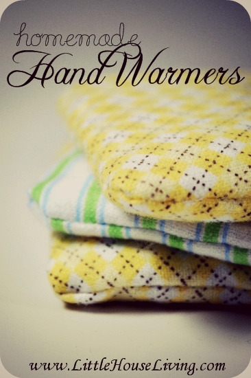 Homemade Hand Warmers - Little House Living