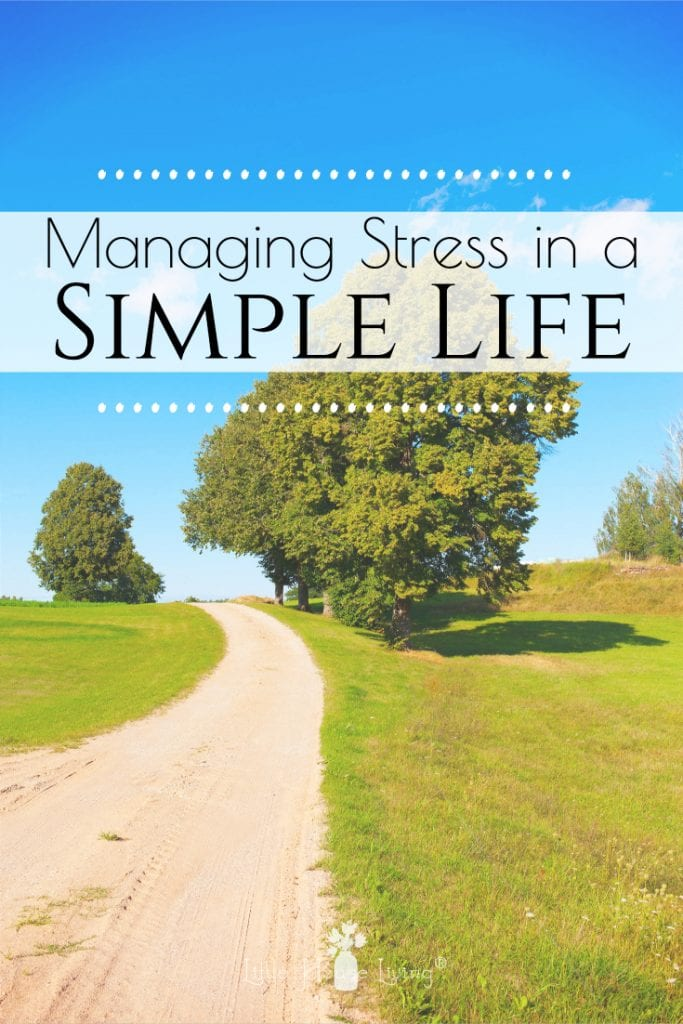 Even simple living can be full of stressful situations. Here are a few tips on How to Live a Less Stressful Life to help you manage stress. #lessstress #stressmanagement #simplelife #simpleliving