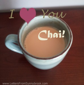 I Love You Chai by Letters from Sunnybrook