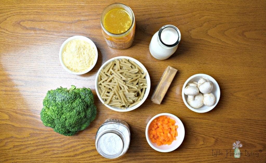 Amish Chicken Casserole Ingredients