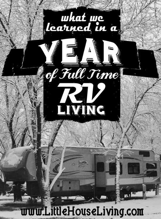 Fulltime RV Living