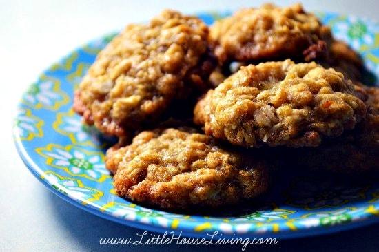 Rice Crispy Oatmeal Cookies Recipe