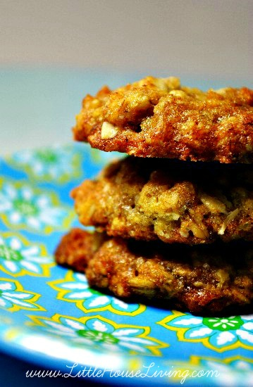 Rice Crispy Oatmeal Cookies Recipe