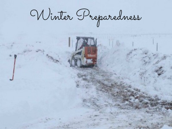 Winter Preparedness