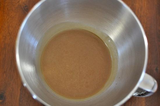 Caramel Icing Mixture