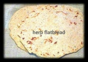 herb flatbread