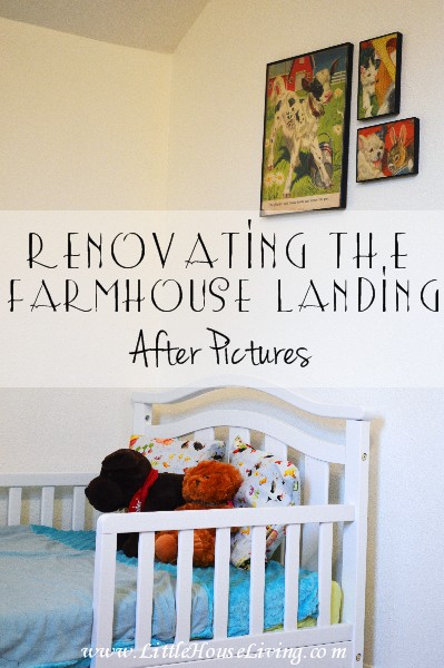 Renovating the Farmhouse Landing: Before Pictures
