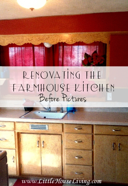 Renovating the Farmhouse Kitchen - Little House Living