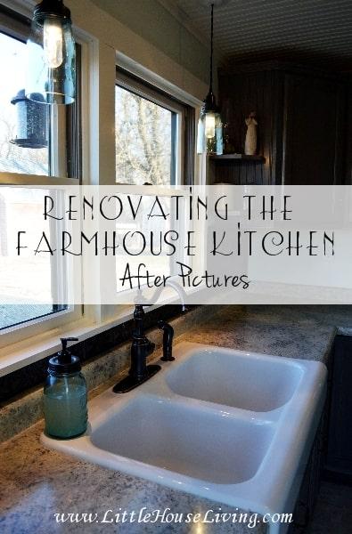 Renovating the Kitchen Farmhouse Kitchen