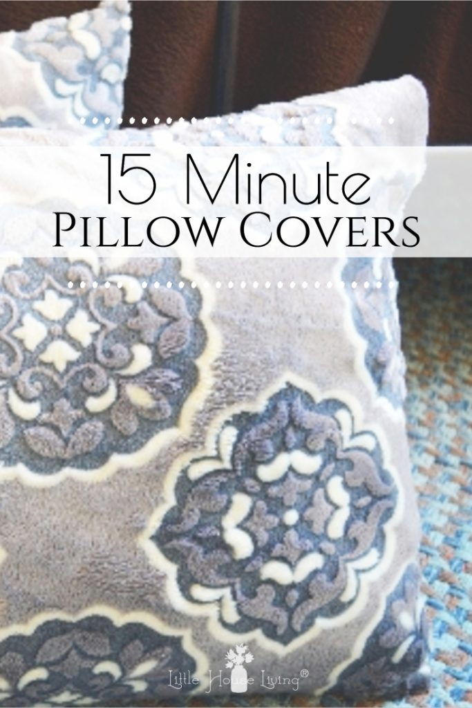 These slip-on DIY Pillow Covers are easy to change out this easy pattern comes together quickly and easily, even a beginner can make them! #sewing #freepattern #pillowcover #diy #seweasy #easysewingprojects