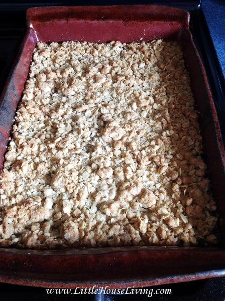 Old Fashioned Rhubarb Bars Recipe