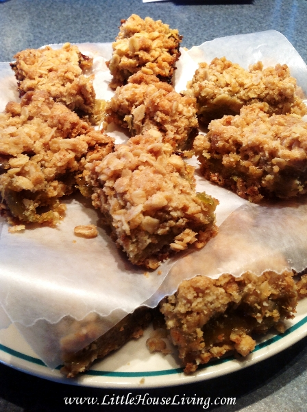 Rhubarb Bars Recipe