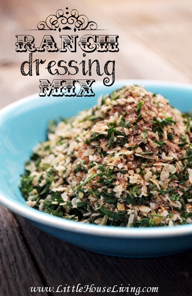 Ranch Dressing Mix Recipe - Little House Living