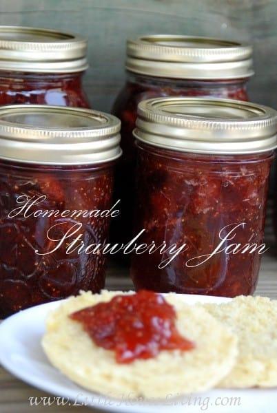 Strawberry Jam Recipe - Little House Living