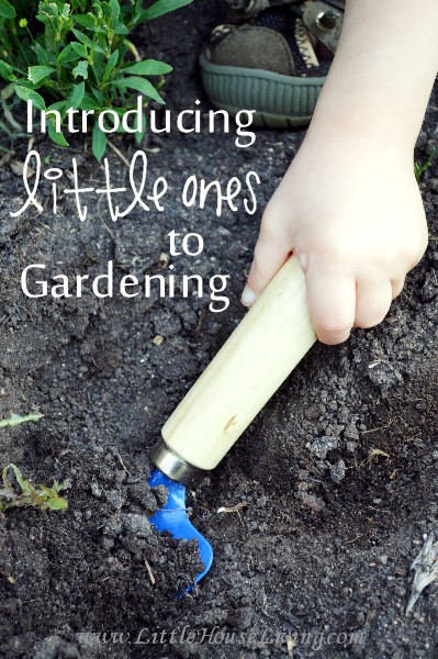 Introducing Little Ones to Gardening