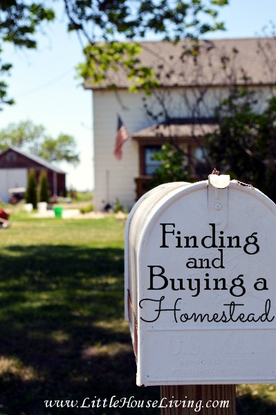 Finding and Buying a Homestead