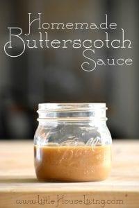 How to Make Butterscotch Sauce