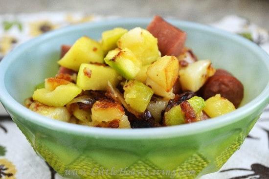 Zucchini Summer Garden Fry