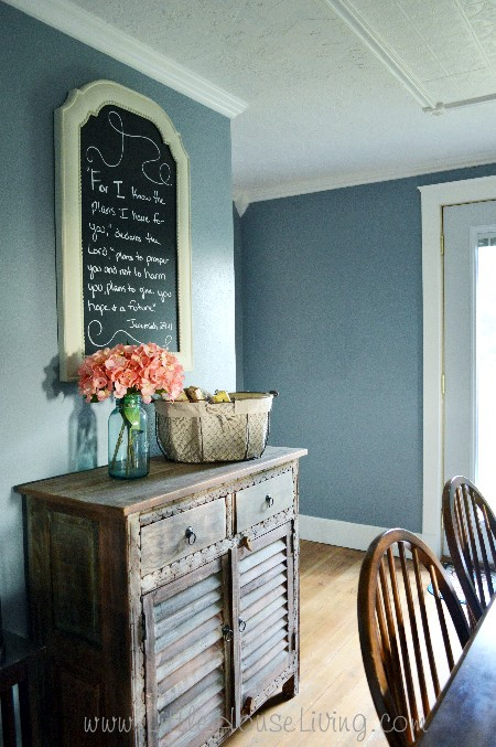 Renovating the Farmhouse Dining Room After