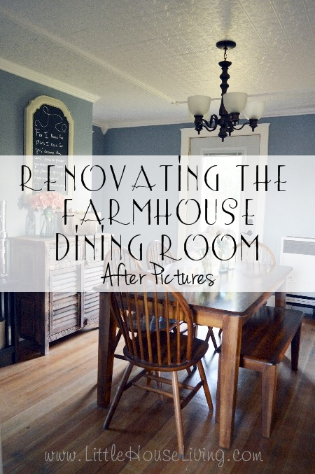 Post image for Renovating the Farmhouse Dining Room After