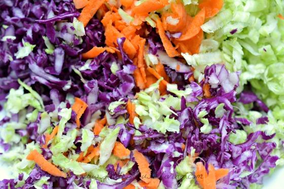 Shredded Cabbage for Coleslaw