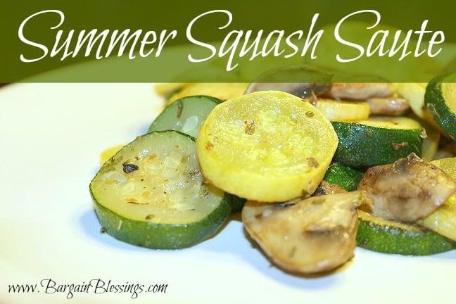 Using the Garden Veggies: Fresh Zucchini Recipes