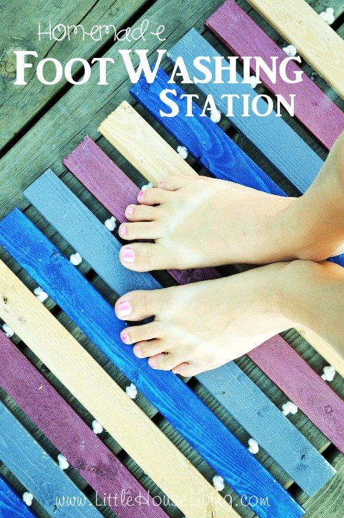 Foot Washing Station - Little House Living