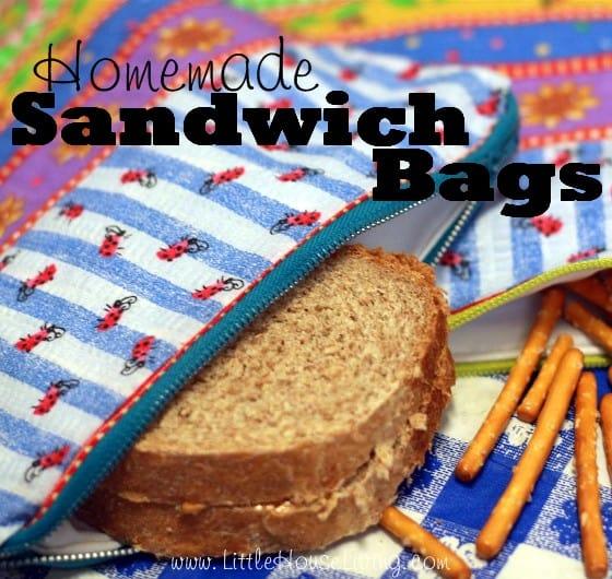 Homemade Sandwich Bags - Little House Living