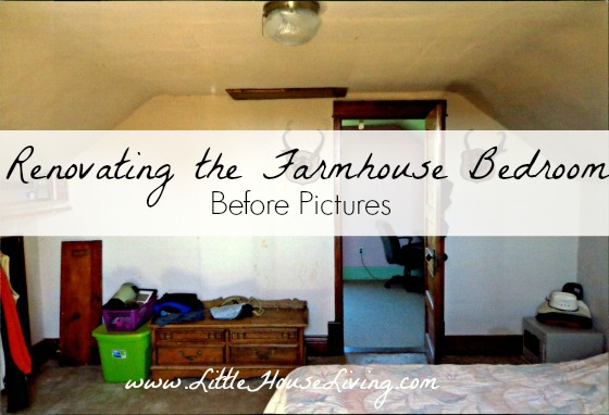 Post image for Renovating the Farmhouse Bedroom – Before Pictures