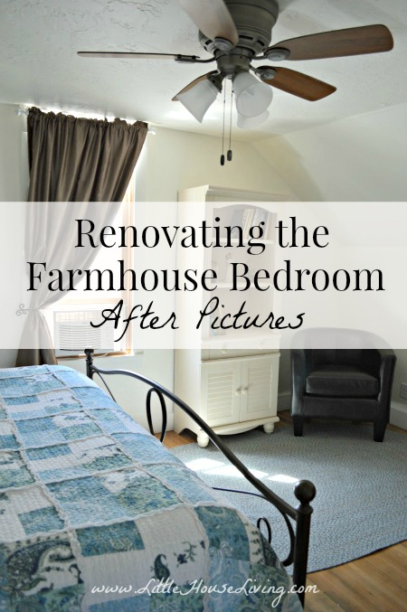 Post image for Renovating the Farmhouse Bedroom – After Pictures