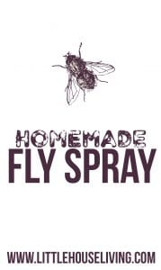 Home Made Fly Spray Made With Essential Oils - Natual Fly Spray