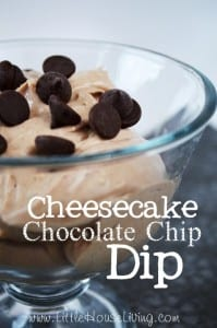 Cheesecake Chocolate Chip Dip Recipe
