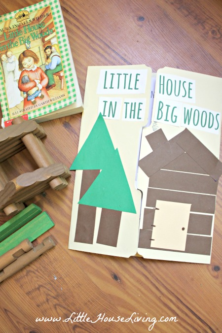 Little House in the Big Woods Lapbook Printable