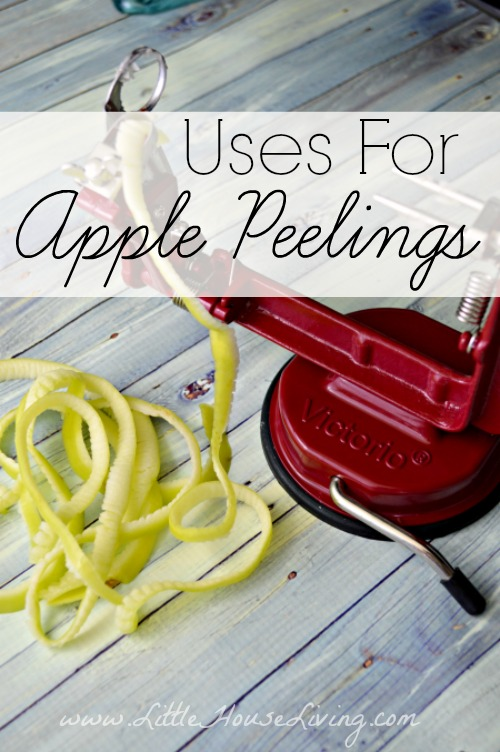 Uses for Apple Peels - Little House Living