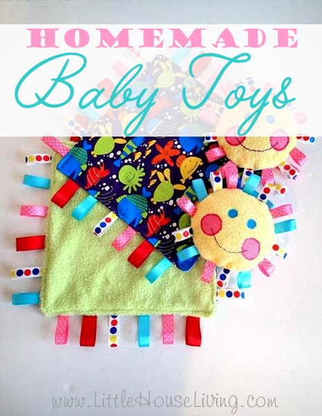 Homemade Baby Toys - Little House Living