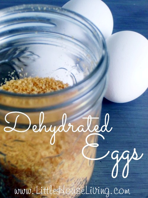 Dehydrated Eggs - Little House Living