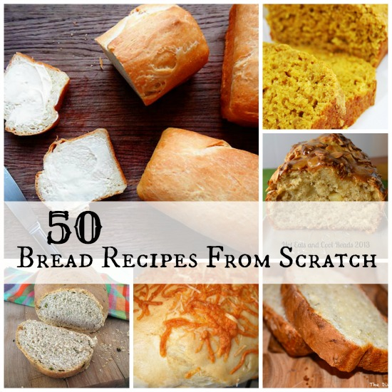 Bread Recipes From Scratch - Little House Living