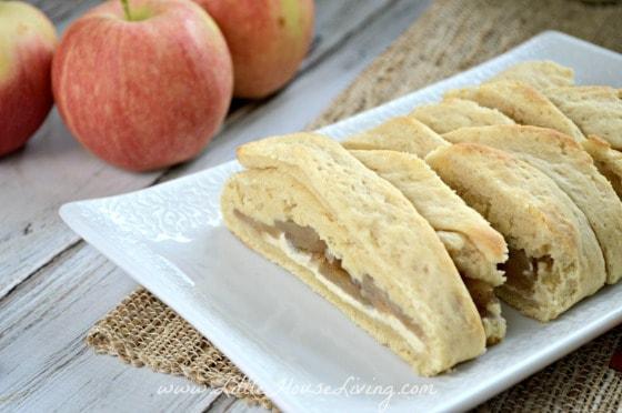 Apple Cream Cheese Danish