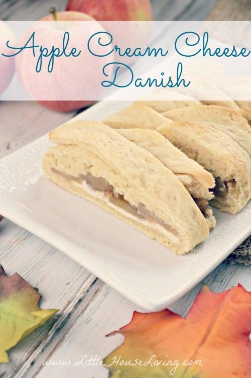 Apple Danish Braid Recipe - Little House Living