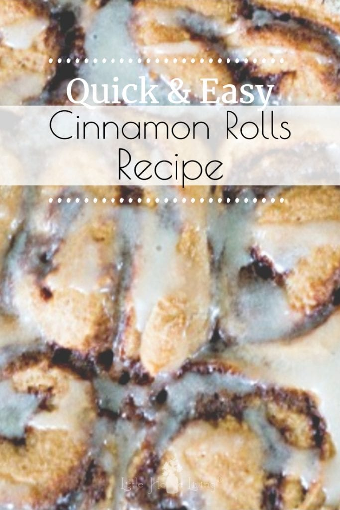 Looking for a delicious breakfast treat? This Easy Cinnamon Roll Recipe can be mixed up the night before so they are ready to bake fresh in the morning! #easycinnamonrollrecipe #overnightcinnamonrolls #cinnamonrolls #makeaheadrecipe