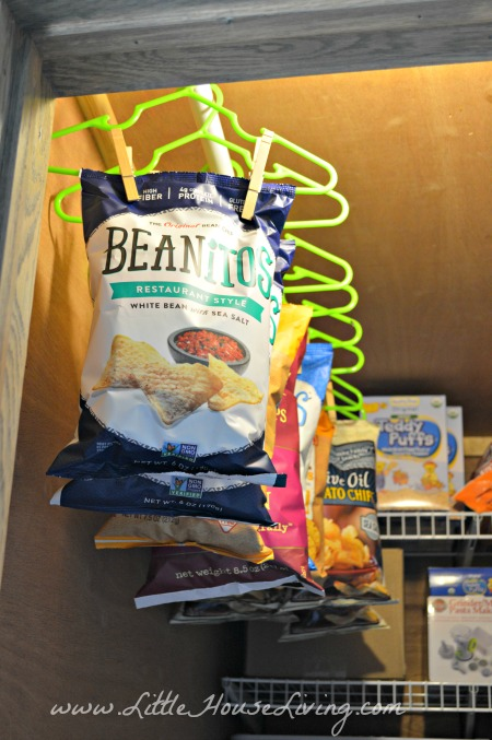 Organizing Chips in the Pantry
