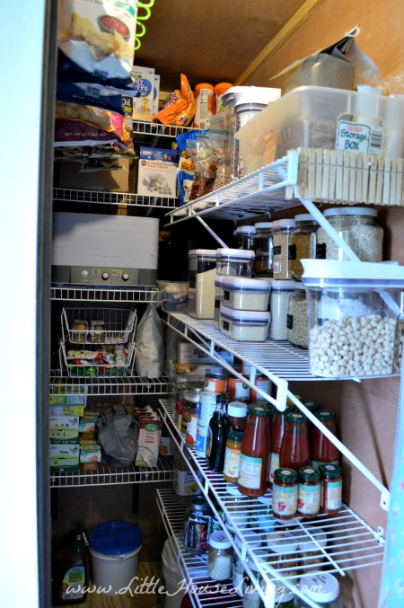 After the Pantry Makeover