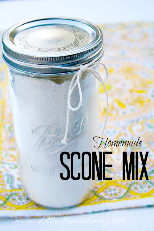 Scone Mix Recipe - Little House Living