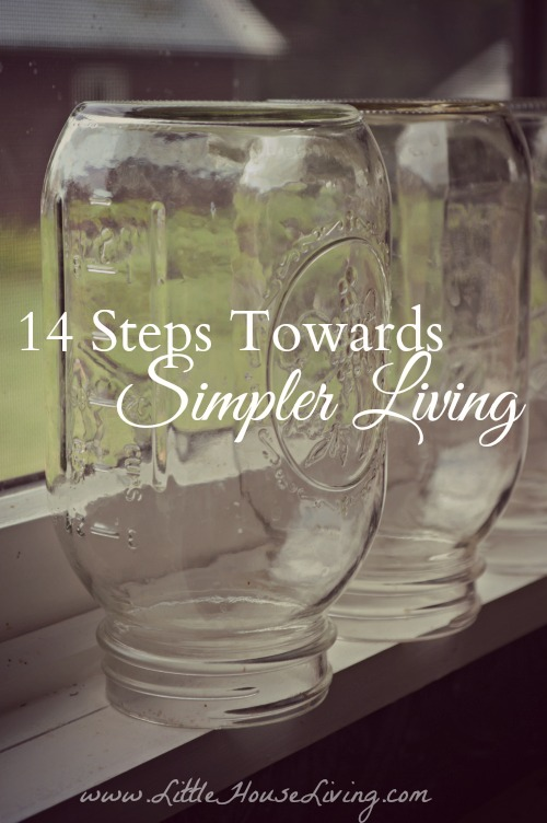 14 Steps Towards Living a Simpler Lifestyle. You need to check out these amazing tips!