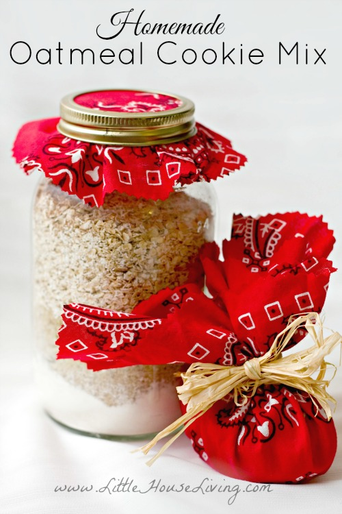 Homemade Oatmeal Cookie Mix Recipe - Little House Living
