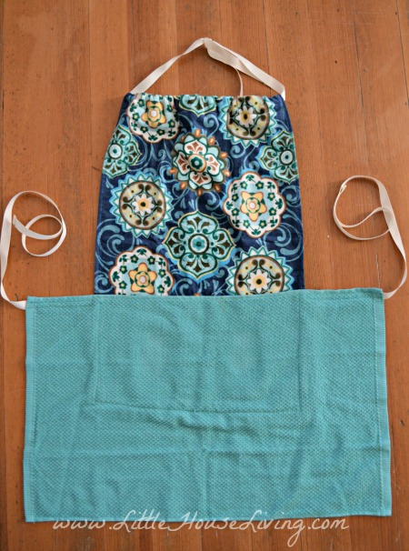 How to Make a Dish Towel Apron